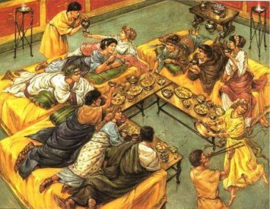 Ancient World's Tavern Feast: 23 Feb